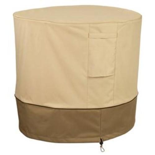 Classic Accessories 73122 Veranda Round Air Conditioner Cover In Pebble