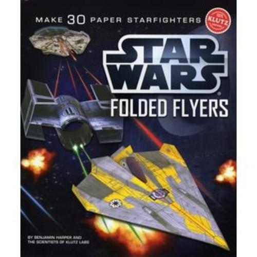 Klutz Press K539634 Star Wars Folded Flyers: Make 30 Paper Starfighters-