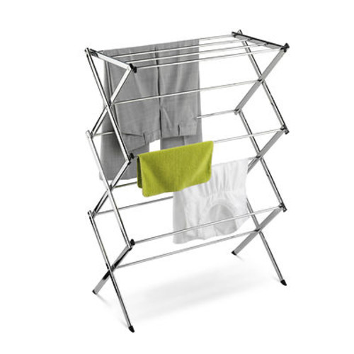 Honey-Can-Do Collapsible Chrome-Plated Drying Rack