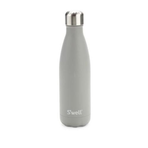 Smokey Quartz Stainless Steel Reusable Water Bottle/17oz.