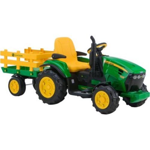 Peg-Perego John Deere Ground Force 12-Volt Tractor