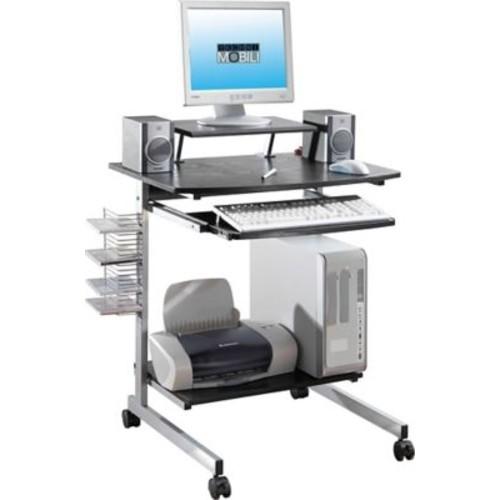 Techni Mobili Space Saving Computer Desk, Espresso