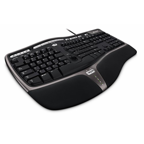 Microsoft Natural Ergonomic 4000 Clear Computer Keyboard Cover Skin