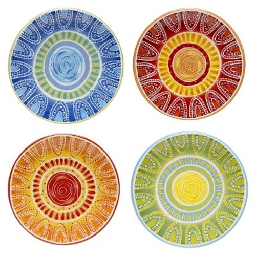 Certified International Tapas Canape Plate (Set of 4)