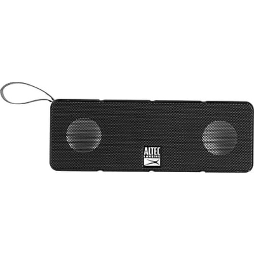 Altec Lansing Dual Driver Bluetooth Speaker, Black