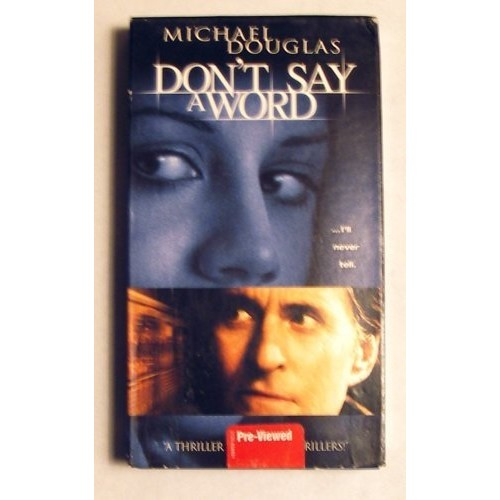 Don't Say a Word: Michael Douglas, Sean Bean, Brittany Murphy, Gary Fleder: Movies & TV
