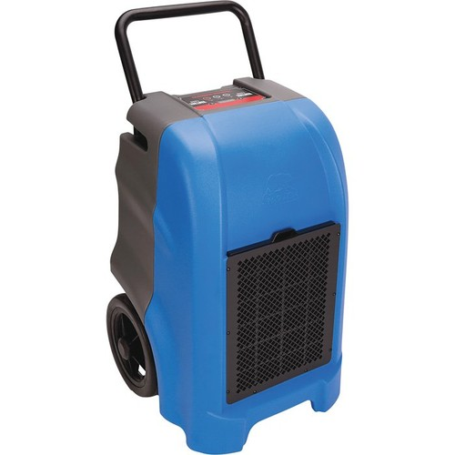 B-Air Vantage Compact Dehumidifier  76 Pint Capacity, 325 CFM, Blue, Model# VG 1500 BLUE