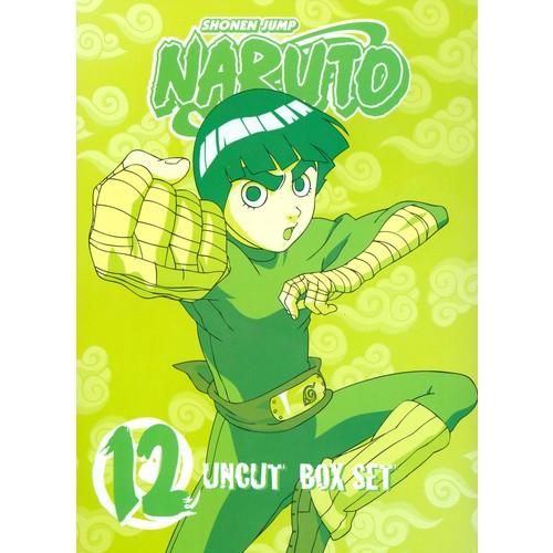 Naruto Uncut Box Set, Vol. 12 [3 Discs] [DVD]
