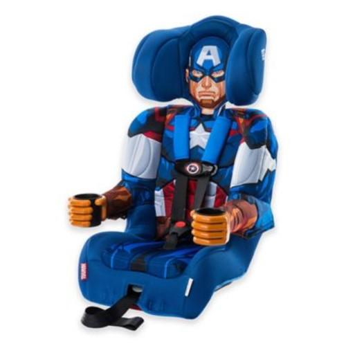 KidsEmbrace Marvel Avengers Captain America Combination Harness Booster Car Seat