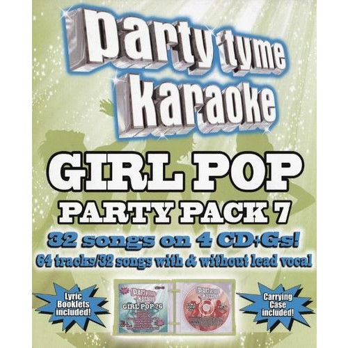 Party Tyme Karaoke: Girl Pop Party Pack, Vol. 7 [CD]