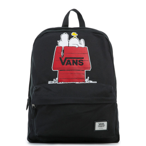 The Peanuts Realm Backpack in Black