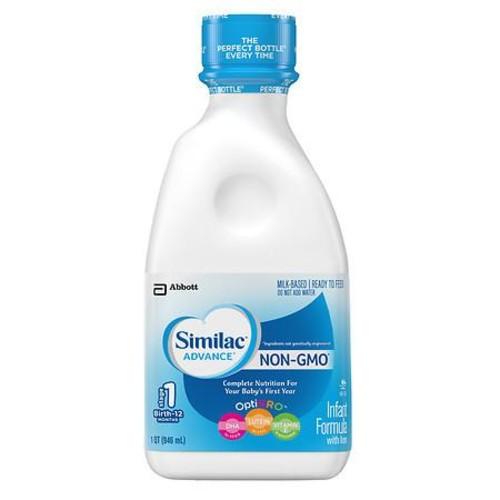 Similac Advance Pro Advance, Infant Formula with Iron, Ready to Feed