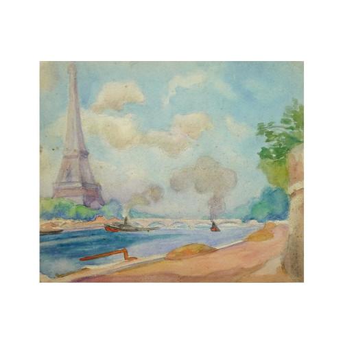 Along the Seine, C. 1930