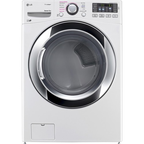 LG 7.4 Cu. Ft. Gas Dryer w/ Steam Cycles - White