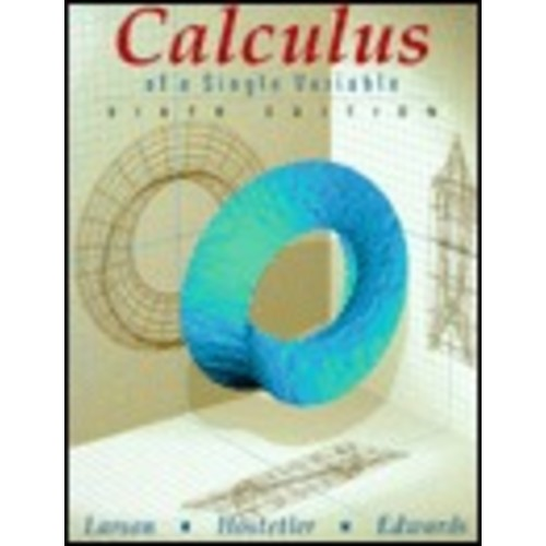 Calculus of a Single Variable / Edition 6