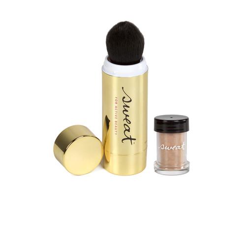 Sweat Cosmetics Mineral Bronzer SPF 25 + Twist-Brush in