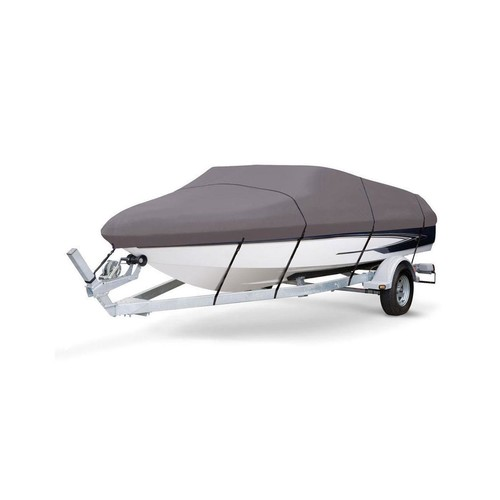 PyleSports Boat Cover 17'-19'L Beam Width - 102'' V-Hull Runabouts Outboards&I/O