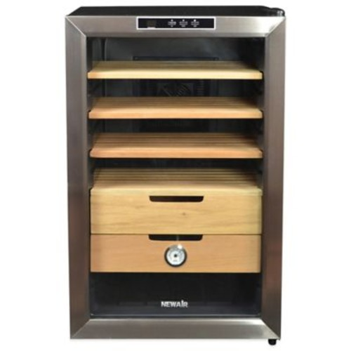 Air 400-Capacity Cigar Cooler with Hygrometer
