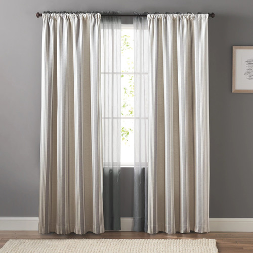 SONOMA Goods for Life Striped Window Curtain