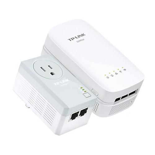 TP-Link AV500 AC750 Wireless Wi-Fi Range Extender Powerline Edition Starter Kit, TL-WPA4530 KIT