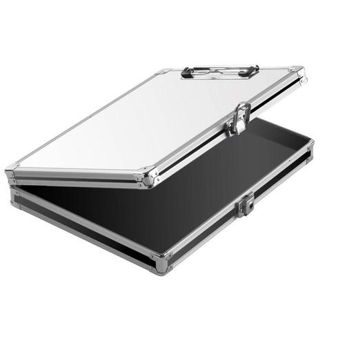 Vaultz Locking Storage Clipboard, Whiteboard, Key Lock