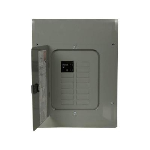 Eaton BR 100 Amp 12-Space 20-Circuit 22K Main Breaker Load Center