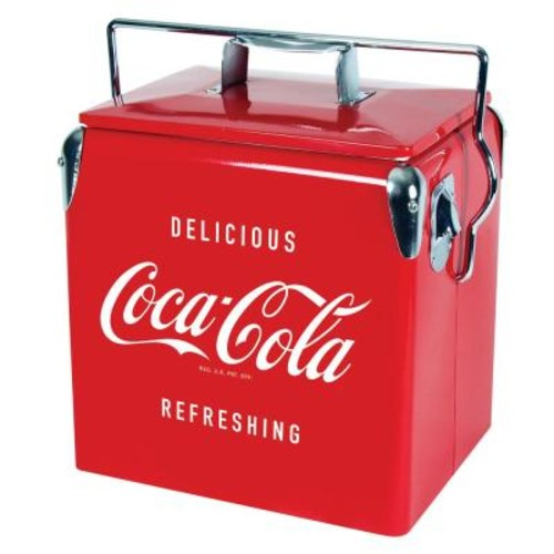 Koolatron 13 l Stainless Steel Ice Coca-Cola Chest Cooler