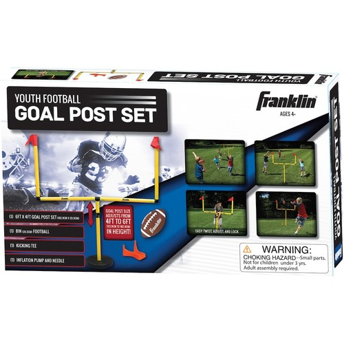 Franklin Sports Football Goal Post Set - Youth