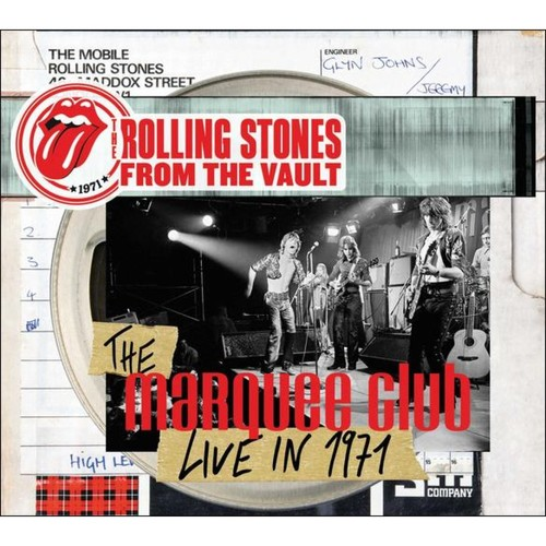 From the Vault: The Marquee Club Live in 1971 [CD/DVD] [CD & DVD]
