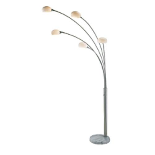 Adesso Luna Arc Floor Lamp, 86