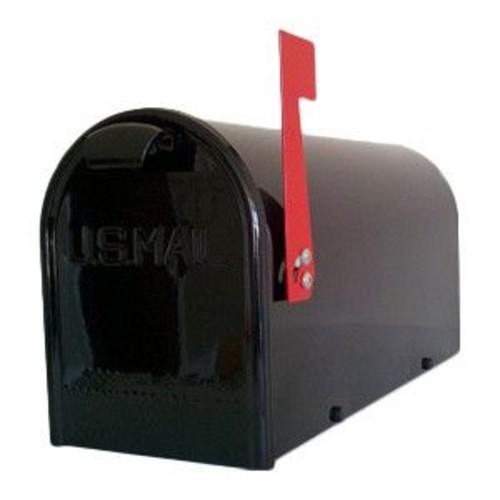 GDM Mailbox Company Newport Post Mounted Mailbox; Black