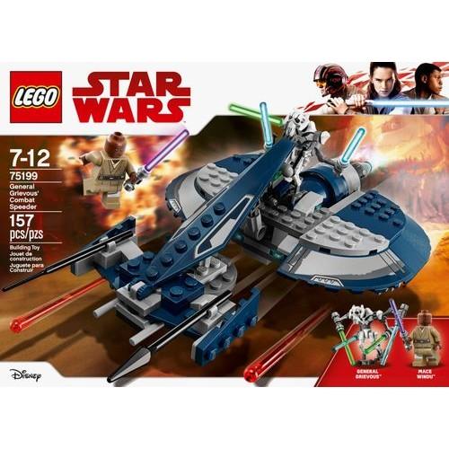 LEGO - Star Wars General Grievous' Combat Speeder Building Set