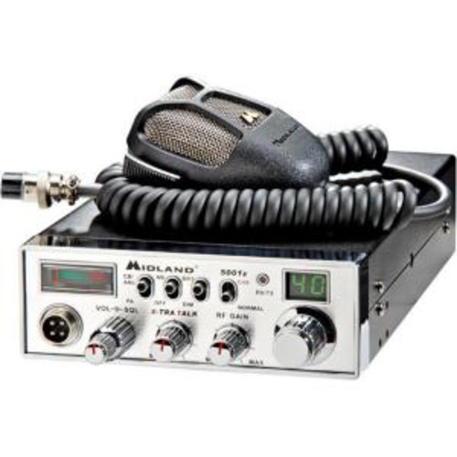 Midland 30-Mile 40 Channel CB Radio with Digital Tuner (1-Pack)
