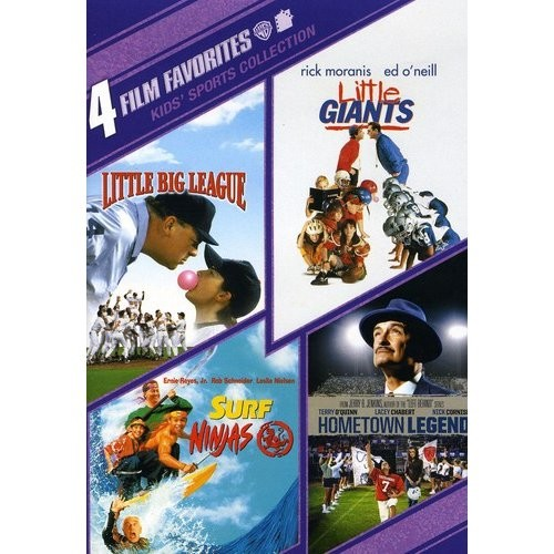 Kids Sports Collection: 4 Film Favorites [2 Discs] [DVD]