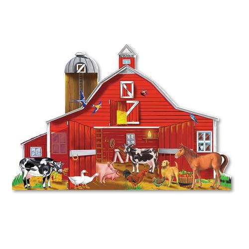 Melissa & Doug Farm Friends Floor Puzzle - 24 Piece