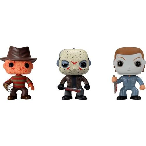 Funko Horror Classics POP! Movies Vinyl Collectors Set: Freddy Krueger, Jason Voorhees, Michael Myers