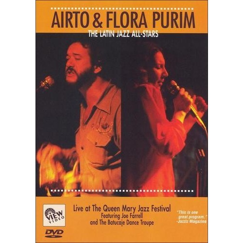 Airto and Flora Purim: The Latin Jazz All-Stars - Live at the Queen Mary Jazz Festival [DVD] [1988]
