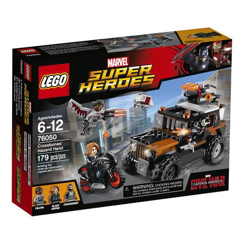LEGO Super Heroes Marvel Crossbone's Hazard Heist #76050