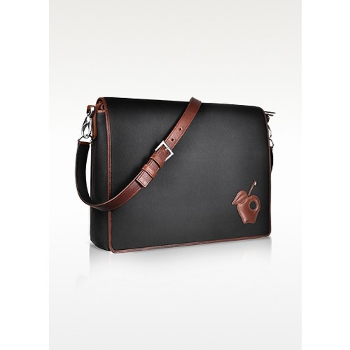 Black Messenger Changing Bag