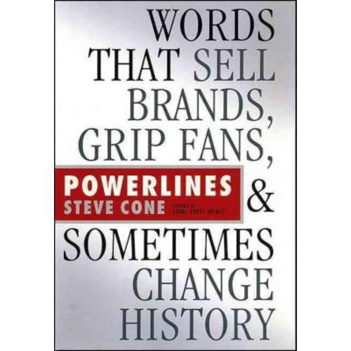 Powerlines Steve Cone Hardcover