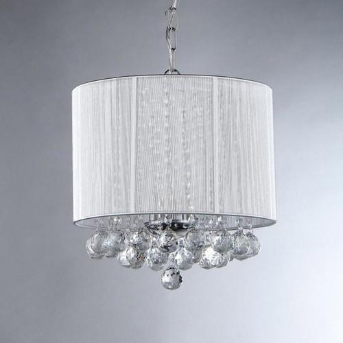 Warehouse of Tiffany Platter Crystal Chandelier