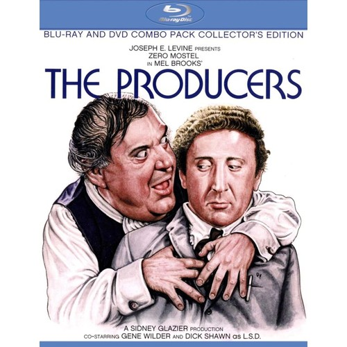 The Producers [Collector's Edition] [2 Discs] [Blu-ray/DVD] [1968]