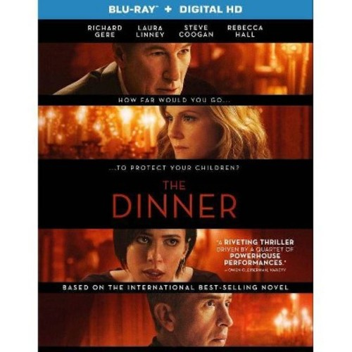 The Dinner [Blu-ray] [2 Discs] [2017]