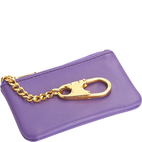 Royce Leather Slim Coin & Key Holder in Genuine Leather