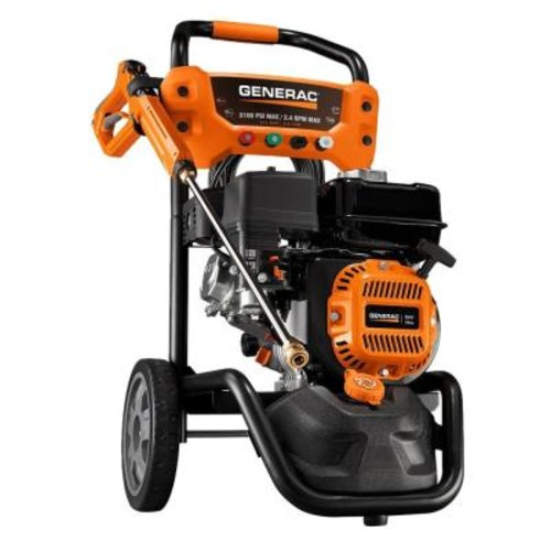 Generac 3100-PSI 2.4-GPM Gas Pressure Washer with Variable PSI Gun