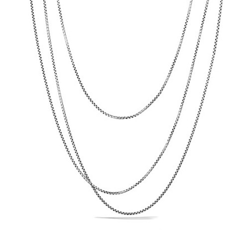 Small Box Chain with Gold, 72