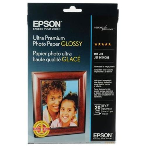 Epson Ultra Premium Glossy Photo Paper (5x7