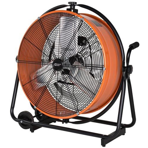 Commercial Electric 24 in. Heavy Duty Direct Drive Orbital Drum Fan