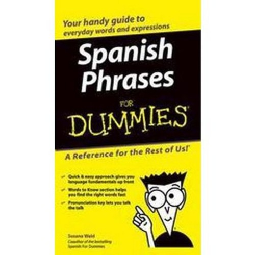 Spanish Phrases for Dummies (Bilingual) (Paperback) (Susana Wald)