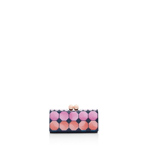 TED BAKER Destiny Mosaic Bobble Leather Wallet